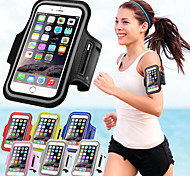 Waterproof Sports Running Arm Band Arm Holder Pounch Band Belt Case For iphone 6S Plus/6 Plus (Assorted Colors)