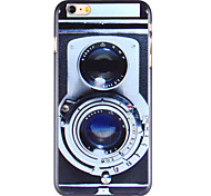 Cool Camera Pattern PC Back Cover for iPhone 6 Plus
