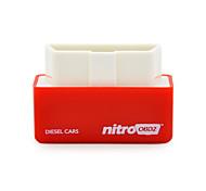 2016 новое прибытие тюнинг дизель nitroobd2 чип коробки подключи и интерфейс привода для дизельного топлива