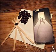 maycari® einsam doggy transparente TPU Tasche für iPhone 6 / iphone 6s
