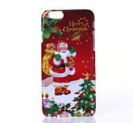 caso duro natal velho padrão pc para o iphone 6 6s / iphone