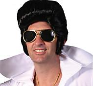 vente directe d'usine elvis presley perruque Vente en Gros hommes noirs de perruques courtes alimentation spéciale Elvis Presley de