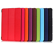 10.1 Inch Triple Folding Pattern High Quality PU Leather for LG G Pad II/LG G Pad X 10.1(Assorted Colors)