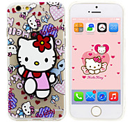 iPhone 5 Case Disney Hello Kitty Silicone Gel TPU Material case  with a free Headfore HD Protector for iPhone 5/5S