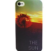 Dusk Pattern TPU Case for iphone 4G/4S