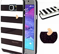 2-in-1 Black And White Case Pattern TPU Back Cover + PC Bumper Shockproof Soft Case For Samsung Note 5