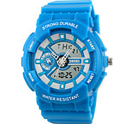 SKMEI® Unisex Fresh Color Analog-Digital Sports Watch Fashion Sporty Wristwatch Cool Watch Unique Watch