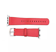2015 Newest Genuine Leather Simple Watchband for Apple Watch 38mm/42mm Assorted Colors