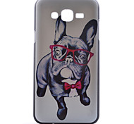 Puppy Pattern PC Material Cell Phone Case for Samsung Galaxy J1/J5/J7
