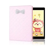 Hot Selling Sparkling Rhinestone Bowknot Flip Skin Shell for iPad Air 2(Assorted Colors)