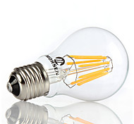 MORSEN®1pcs 8W A60 E27 Led filament bulb clear grass edison light bulbs indoor led lighting 110/240V filament lamp