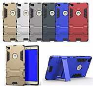 Newest Fashion For Huawei Ascend P8 Case Two-in-one Bracket TPU+PC Back Cover Case Huawei P8 Phone Support Cases
