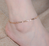 Women's Fashion Simple Hollow Chain Alloy Anklet