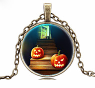 HUALUO®Halloween Time Gemstone Necklace