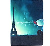 Embossed PU Leather Holster Folio Case Waterproof Case for iPad air 2