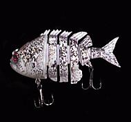 1 pc Esche rigide / Esca Esche rigide Grigio 14 g Oncia,80 mm pollice,Plastica dura Pesca di mare
