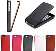 Crazy Horse Pattern PU Leather up and Down Flip Full Body  Phone Shell  Cover for iPhone 4/4S