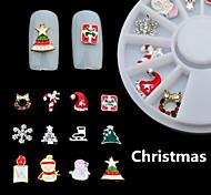 1box - Adesivi 3D unghie / Gioielli per unghie - Adorabile - Dito - di Metallo - 6CM