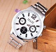 Women's Watch L.WEST Fashion Steel Band Quartz Watch Cool Watches Unique Watches
