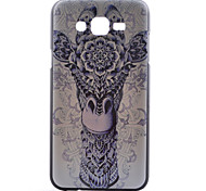 Giraffe Pattern PC Material Cell Phone Case for Samsung Galaxy J1/J5/J7