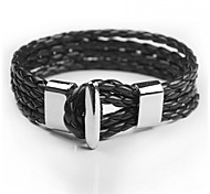 Fashion Men Bracelet Leather Bracelet