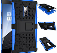 For OnePlus Case Shockproof with Stand Case Back Cover Case Armor Hard PC for OnePlus One Plus 2 One Plus 3T