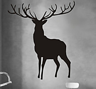 Animals Wall Stickers Plane Wall Stickers ELK PVC Wall StickersW81cm x L95cm (W32'' x L37.5'')