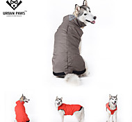 Dog Coats - XXXL / 4XL / 5XL - Winter - Red / Blue - Cosplay - Mixed Material / Polar Fleece