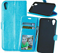 High Quality PU leather Wallet Mobile Phone Holster Case For HTC Desire 626(Assorted Color)