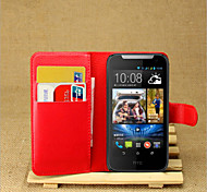 The Embossed Card Support Protective Cover For HTC Desire 310 Mobile Phone