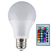 1 Stück 无 Dimmbar / Ferngesteuert / Dekorativ Kugelbirnen B E26/E27 12 W 1000 LM 2800-6500 K 1 Integriertes LED RGB AC 85-265 V