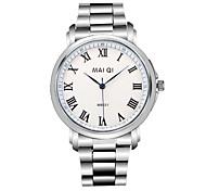 venta caliente reloj de pulsera de acero inoxidable de los hombres