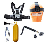 Accessories For GoPro Telescopic Pole / Front Mounting / Monopod / Tripod / Straps / Mount/Holder / Accessory Kit Waterproof / Floating,