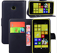 Embossed Card Bracket Type Protective Sleeve For Nokia Lumia 630 Mobile Phone
