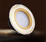 3W 9005 LED a incasso 3 Illuminazione LED integrata 100 lm Bianco caldo / Luce fredda Decorativo AC 85-265 V 1 pezzo