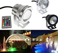 10w LED RGB luz bajo el agua caliente fresco piscina estanque blanco lámparas puntuales de lavado 12v