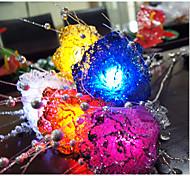 20-LED 2 m wasserdichtes Mehrfarbennachtlicht-Lampen String 2a Batterieweihnachtsfeiertagshochzeitsdekoration