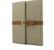 With Elastic Belt Wind Restoring Ancient Ways Flip PU Leather Case Cover For iPad Air