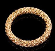 May Polly Fashion Round Gold Bracelet