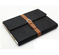 mit elastischen Gurt Wind, der alte Weisen Flip PU Ledertasche für iPad Mini 3/2/1 (Farbe sortiert)
