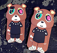 2015 New Naughty Bear Protection Cases for iPhone6/iPhone 6s(Assorted Colors)
