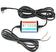 dearroad 12V-24V exklusiven Power-Box Fest verdrahtet Batterie Entladungsschutz für Auto-DVR-Schnittstelle Mini-USB-