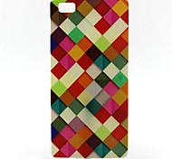 modello colorato pittura reticolo TPU custodia morbida per huawei p8 lite
