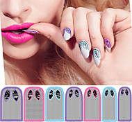 1 PCS  Italian Cat Nail Polish Full Stickers Nail  Stickers