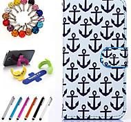 pu Lederholster Folgenden finden stehen Anti-Staub-Stecker Stift für Samsung-Anmerkung 5