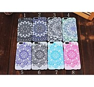 Noctilucence Colored Drawing Pattern PC Mobile phone for iPhone 5S/5 Assorted Color