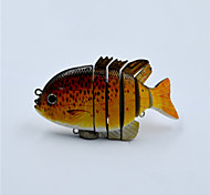 New Pan Fish Swim Bait Pike Fishing Lures 3 D Eyes Life Like Lures