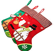 Christmas Big Applique Sock(1 PCS Random Color)