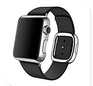 Apple Watch Band,Original Modern Buckle Genuine Leather Band Strap Replacement for Apple Watch 38mm 42mm