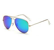 Sunglasses Men / Women's Classic / Sports / Fashion / Aviator / Polarized Flyer Silver / Gold Sunglasses Full-Rim
